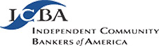 Logo for ICBA, the Independent Community Bankers of America